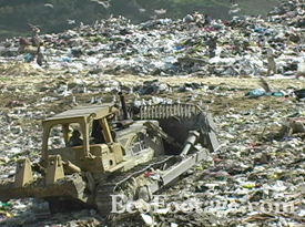 landfill in Tijuana, Mexico